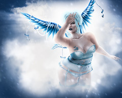 You make me Fade (Johanna Leimes) Tags: bbw blog blogger fat fashion fullfigured astralia maitreya secondlife sl clouds heaven angel wings lindenlabs