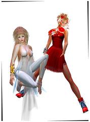 TerraMerhyem_&_Aicha_2016_08 (TerraMerhyem) Tags: femme woman women girl mode fashion belle beauté beauty elegante elegance deux duo two rouge blanc white red femmes jolie mannequin model topmodel terramerhyem merhyem sexy