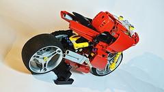 Lego Technic Ducati (MOC) (hajdekr) Tags: ducati bike motorbike motorcycle moc lego legotechnic technic myowncreation sheels tires shockabsorber suspension race racer racing speed red supersport sport gp power buildingblocks tip tips