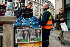 Turning Point (stevedexteruk) Tags: brexit aritcle50 eu eurorpean union uk london oxfordcircus newspaper standard may pm theresa 2017 city vendor west end final eveningstandard politics