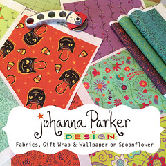 Johanna-Parker-Fabric-Swatches (Johanna Parker Design) Tags: johannaparker surfacedesign illustration pattern patterndesign graphicdesign fabric giftwrap wallpaper whimsical swatch sewcute sew johannaparkerdesign halloween halloweenpattern halloweenfabric owl blackcat floral flowers
