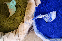 Blue Powder for Sale (adventurousness) Tags: bluecity chefchaouenthebluepearl thebluecity blue chaouen chefchaouen morocco travel powder