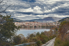 On the road ... (dimitrisrentis) Tags: nikon nature sky scenery view skymood clouds city kastoria green greece hellas beauty buildings landscape light lake road outdoor sea makedonia mountain macedoniagreece timeless macedonian μακεδονια