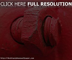 red bolt - Autos Wallpapers 2014 (Sadia Komal) Tags: red macro metal painted bolt nut themoulinrouge olympuse500 grantmacdonald trashbit
