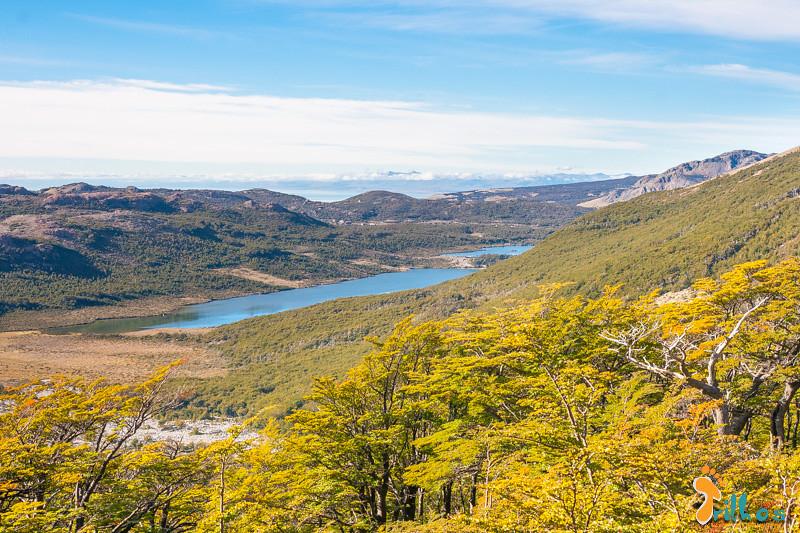 Subida à Laguna Capri e Laguna de Los Três