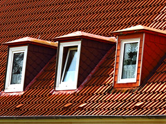 Dormer Windows in Northern Germany (Colorado Sands - OFF for awhile) Tags: windows roof house home buildings germany deutschland europe structure german deutsch schleswigholstein dormers laboe slopedroof northerngermany pln dormerwindows sandraleidholdt leidholdt