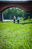 18.04.2014-22 (Renāte B.) Tags: bridge cute green love nature couple romance latvia kuldiga holdhands