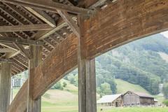Vordere Brgg (qitsuk) Tags: schweiz switzerland coveredbridge schwyz muotathal woodenbrigde muota vorderebrcke vorderebrgg
