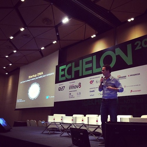 Startup DNA. By @p_kemps #echelon2014
