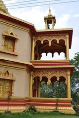 Phra That Khong Santi Chedi was unfortunately closed (oldandsolo) Tags: southeastasia buddhism lp laos wat buddhisttemple luangprabang chedi buddhistart buddhistshrine laopdr unescoworldheritagecity buddhistreligion buddhistfaith phrathatkhongsantichedi