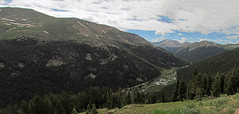 Overlook: Independence Pass, Colorado (CO) (Floyd Muad'Dib) Tags: lake creek colorado pass valley co independence lakecreek independencepass