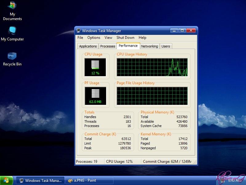 Bản Ghost Windows XP SP3 Lite 2014 siêu rút gọn