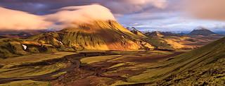 View from Mt. Bratthals, Alftavatn, Iceland