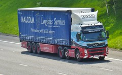 L035 - T18 WHM (Cammies Transport Photography) Tags: flyover m74 lockerbie