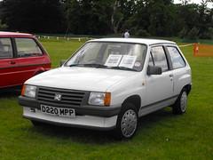 Vauxhall Nova Merit - D220 MPP (1) (Andy Reeve-Smith) Tags: nova gm bedfordshire merit luton vauxhall corsa generalmotors stockwoodpark festivaloftransport 1litre vauxhallopel lutonfestivaloftransport2014