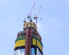 Lotte World Tower construction (tkazec) Tags: asia sony seoul southkorea  lotteworld jamsil    a6000