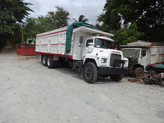 At the truck work shop (RD Paul) Tags: republica truck puerto mercedes benz volvo dominican republic dumptruck delta international camion plata toyota dominicana heavy mack hino domingo santo scania peterbilt daihatsu daf kenworth autocar sosua dyna haulage freightliner izusu dfac hiyundai