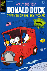 Donald Duck #128, Captives of the Sky Wizard (1969) by Tony Strobl (Tom Simpson) Tags: 1969 illustration vintage comics alien disney ufo comicbook donaldduck tonystrobl captivesoftheskywizard