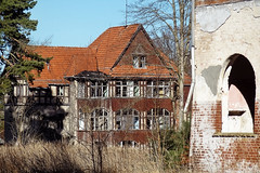 Heilsttten Hohenlychen (a_tourist_on_planet_earth) Tags: abandoned hospital ruins ruine urbanexploration sight brandenburg urbex himmler lostplace nsdap hohenlychen heilsttten tuberkolose heilstaette kurkrankenhaus