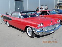 Chrysler Windsor 1957 (caddy58) Tags: ford chevrolet 1955 car power sweden convertible cadillac 1958 1957 imperial dodge oldtimer 1956 chrysler meet 1959 1960 2014