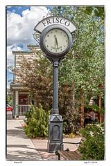 The clock in Frisco CO 2 (Everything_Jerry_Reuss) Tags: colorado skiresort townclock smalltowns interstate70 breckenridgecolorado friscocolorado interestingclocks