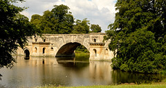 BLENHEIM PALACE PARK AND GARDENS (chris .p) Tags: park uk bridge summer england reflection nikon august palace gb blenheim oxfordshire 2014 d610 28to300