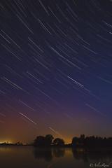 StarTrails (ArlissRoad) Tags: water stars startrails thenewforest hatchetpond