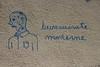(Le fonctionnaire de) l'état, c'est moi (Photocapy) Tags: modern graffiti bureaucracy civilservant bureaucrat hetnieuwewerken neoweberian