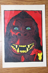 1960's King Kong Decal (Donald Deveau) Tags: monster kingkong decal transfer monstermovie