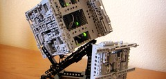 (Star Trek) Custom LEGO® BORG Cube (05) (jonmarkiewitz) Tags: startrek lego borg moc borgcube