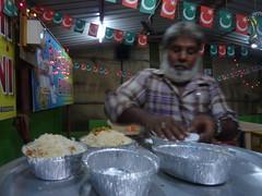 Muslim biryani vendor, at Mapusa, Goa