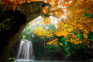 Erawan Waterfall, Kanchanaburi Thailand