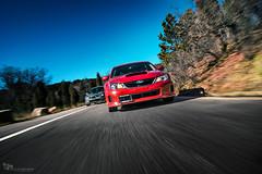 Subawoos (Nick Stephens Artwork) Tags: red mountains race colorado vibrant rally rocky automotive sharp transportation subaru rex wrx sti rolling tracking tilted racecars
