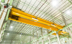 Factory overhead crane installation on rail (Bugphai ;-)) Tags: plant building industry up shop robot store wire iron industrial factory technology lift mechanical tech crane head transport over machine rail rope structure storage system beam warehouse equipment machinery workshop sling transportation hi hook heavy mechanic hang weight tool overhead tackle hanger carry girder overweight manufacture tons hydraulic hoist robotic manufacturing unloading distributer hoisting