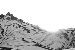 Cookie Covered Colinas (Therese Trinko) Tags: blackandwhite bw mountains argentina mendoza andes montañas