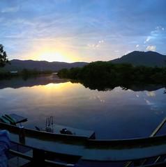 Sunset in Kampot (oledoe) Tags: sunset greenhouse kampot 0tagged set:name=201407kampotkep