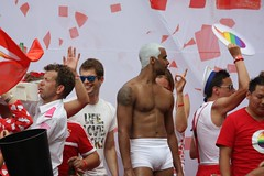 Hunky white short shorts (plaintruthiness) Tags: gay shirtless muscles amsterdam canal pride celebration gogo gaypride abs canalparade bulge noshirt gays gogoboy gayparty amsterdamgaypride instagay gaystagram instagays