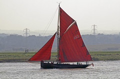 Sailboat DS2 (Hawkeye2011) Tags: uk boats marine ships maritime riverthames essex tallships 2014 rspb rainhammarsh