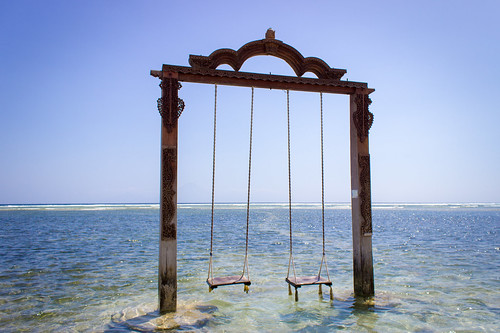 Gili Trawangan Swings, Indonesia