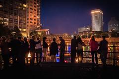 Illuminated Visitors 8.23.14 (Photo by Jennifer Bedford)