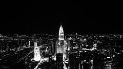 Kuala Lumpur from Menara Tower (Iyad Salik) Tags: city night asia asien sony petronas sigma kuala menara lumpur metropole a77