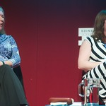 Dilys Rose and Eimear McBride at the Edinburgh International Book Festival
