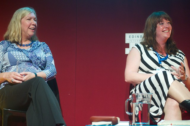 Dilys Rose and Eimear McBride at the Edinburgh International Book Festival