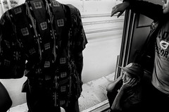 (archangelse) Tags: man train indonesia java mood streetphotography jakarta commuting ker kereta reportage
