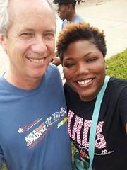 Makayla and Louisville Mayor, Greg Fischer