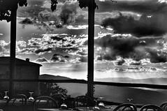 Beste Terrasse, bestes Essen, bester Sonnenuntergang