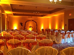 Uplighting 19 11.3.12 at Holiday Inn with Orange