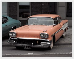 Pontiac Chieftain / 1958 (Ruud Onos) Tags: 1958 pontiac chieftain snc pontiacchieftain worldcars saturdaynightcruise sncdenhaag ae8669 pontiacchieftain1958 uscarsdenhaag automeetingdenhaag haagseamerikanenclub thecruisebrothersamerikaanseautoclub wwwcruisebrothers saturdaynightcruise2014