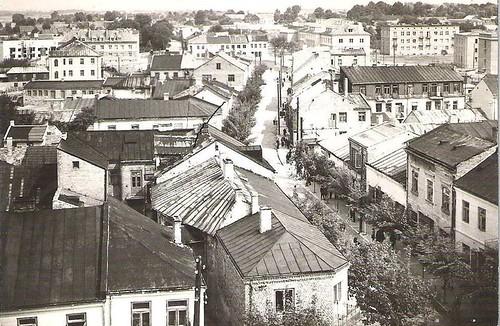ul. radomska, lata 50-te XX wieku