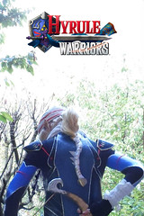 The Warrior Is Back (DrosselTira) Tags: blue costume outfit smash play time cosplay ninja nintendo version super queen zelda warriors cosplayer harp legend sheik loz ocarina hw hyrule hyrulewarriors